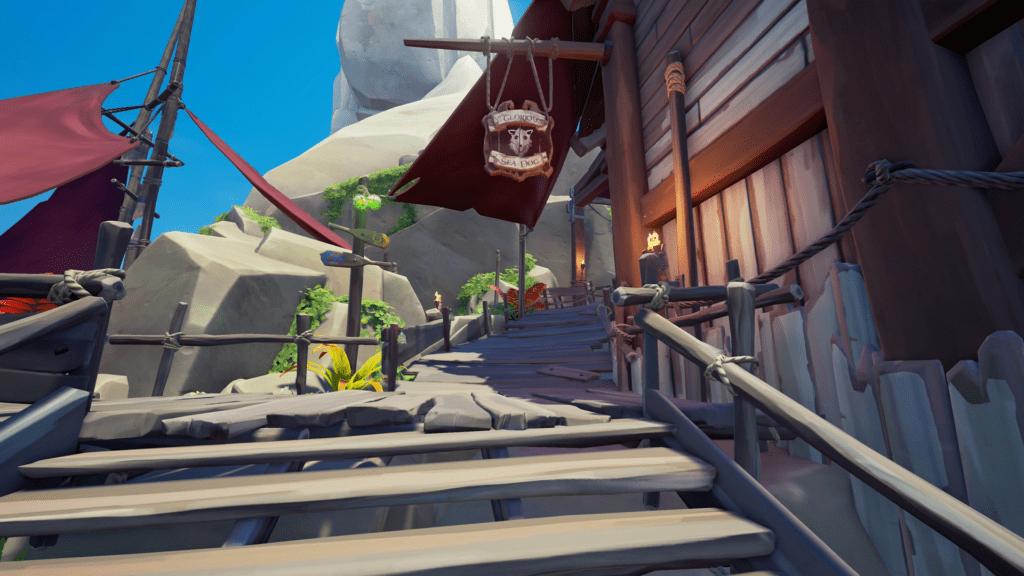 Sea Dog Tavern Sign