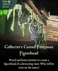 Collector's Cursed Ferryman Figurehead