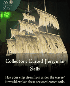 Collector's Cursed Ferryman Sails
