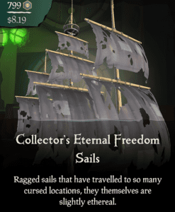 Collector's Eternal Freedom Sails