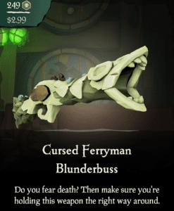 Cursed Ferryman Blunderbuss