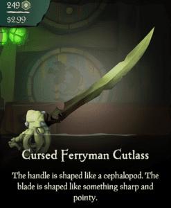 Cursed Ferryman Cutlass