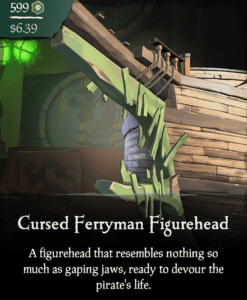 Cursed Ferryman Figurehead