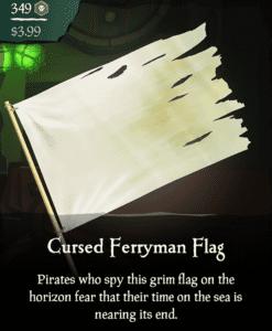 Cursed Ferryman Flag
