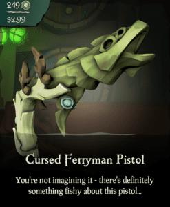 Cursed Ferryman Pistol