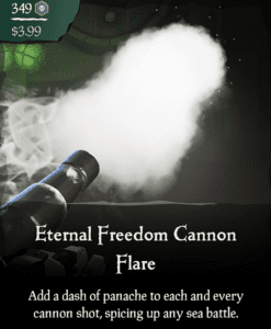 Eternal Freedom Cannon Flare