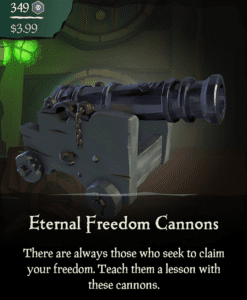 Eternal Freedom Cannons