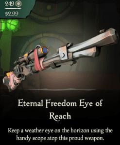 Eternal Freedom Eye of Reach