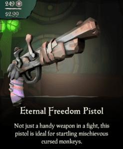 Eternal Freedom Pistol