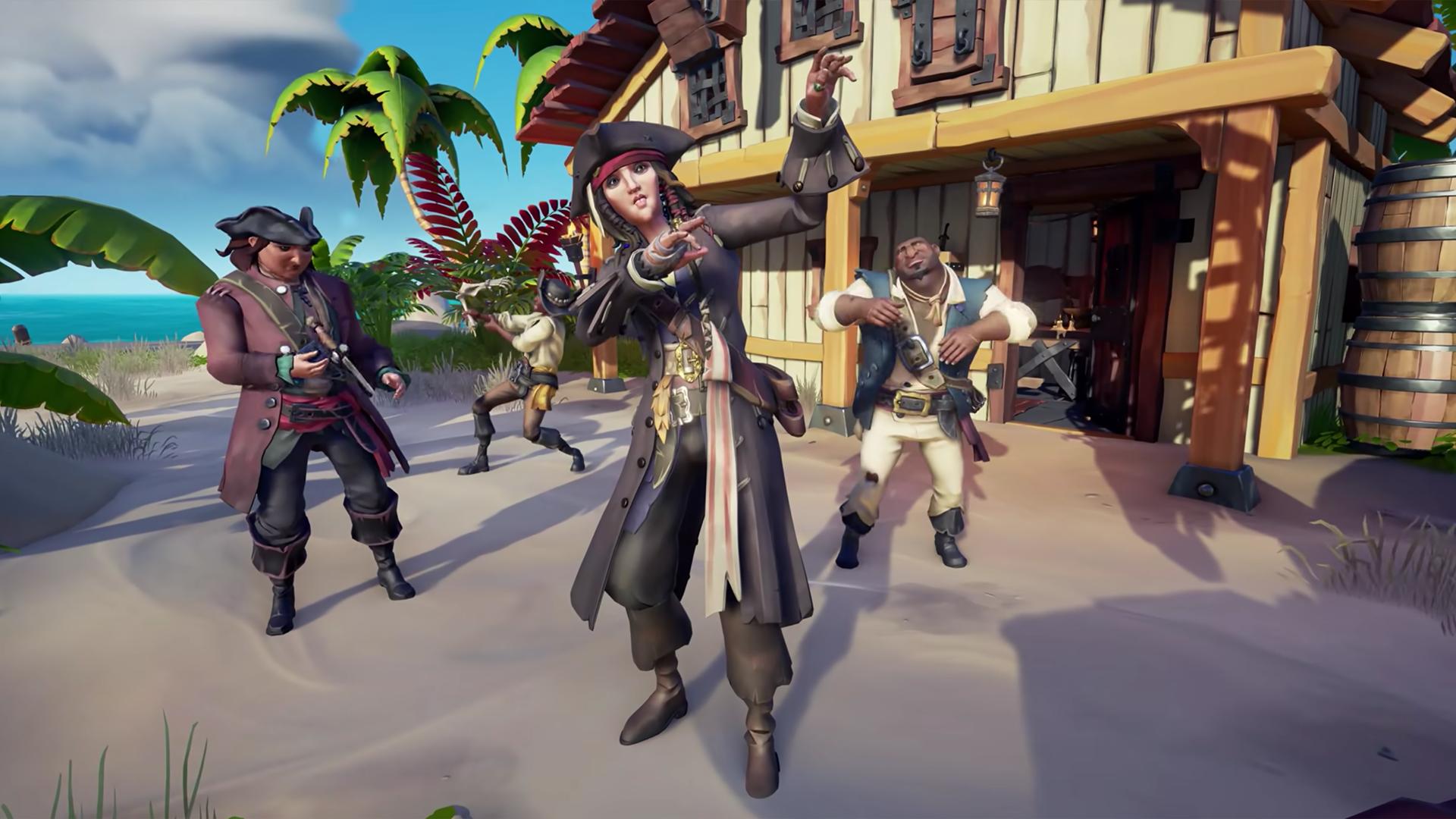 Captain Jack Sparrow Emotes