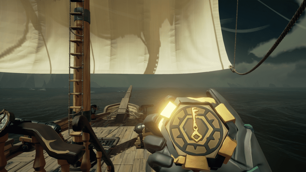 Follow Golden Wayfinder Compass