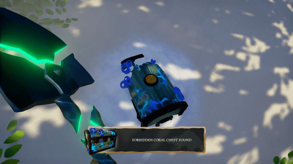 Forbidden Coral Chest Found