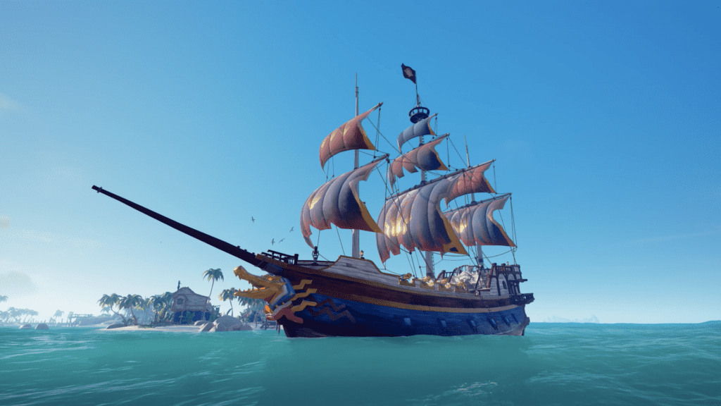 Golden Nile Ship Set