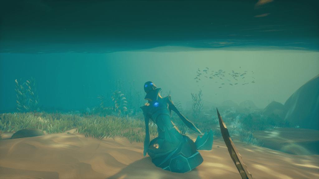 Sapphire Cursed Mermaid Statue