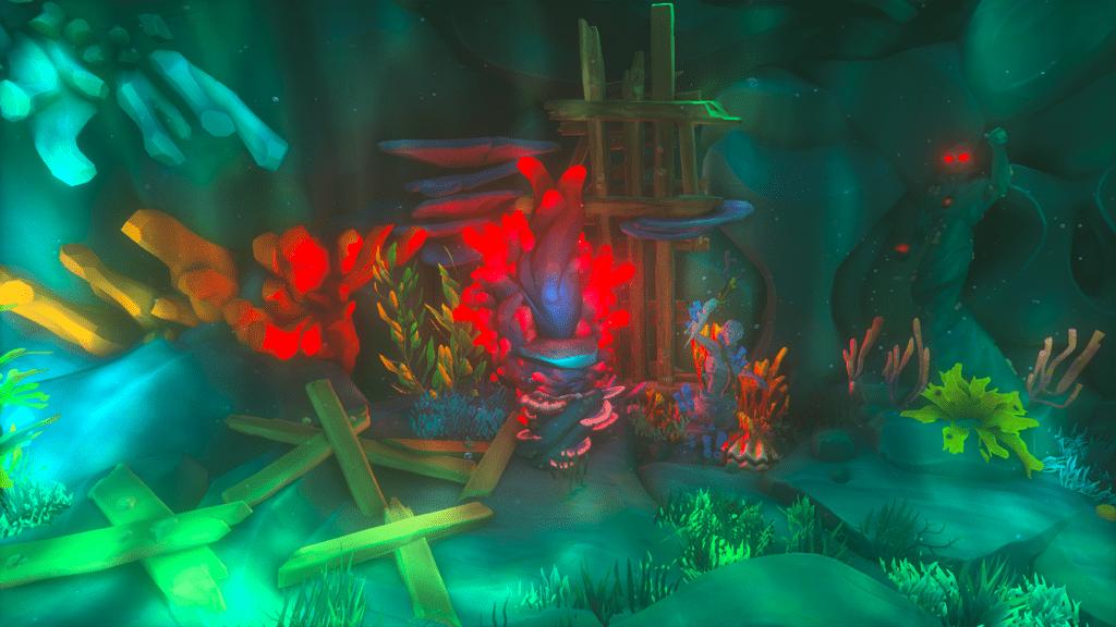 Shrine of Hungering Coral Plinth