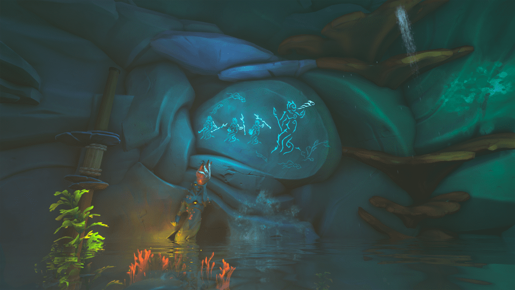 First Siren Statue Puzzle Mural