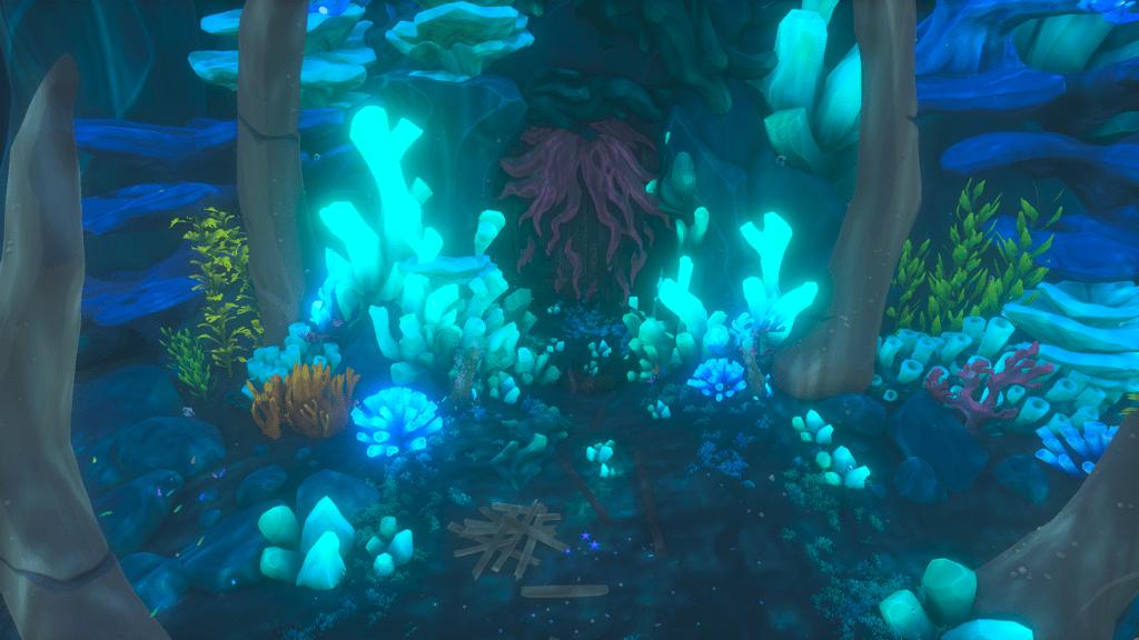 Shrine of Ocean's Fortune Entrance