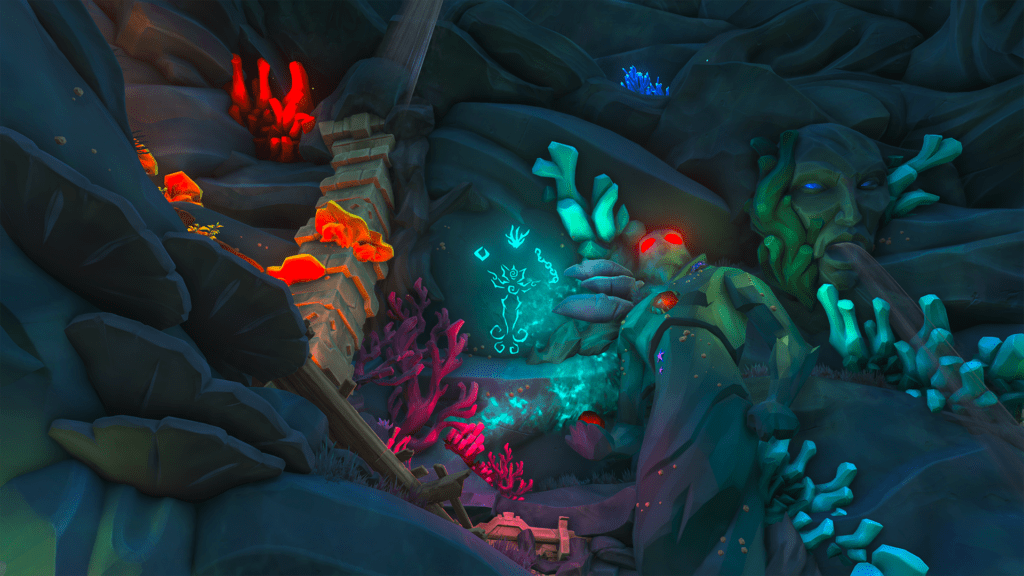 Shrine of the Coral Tomb Puzzle