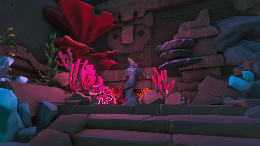 Coral Siren Statue