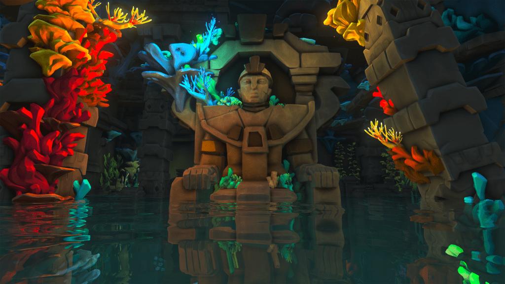 Throne Statue