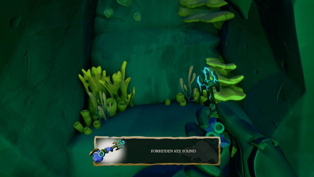 Found Forbidden Key